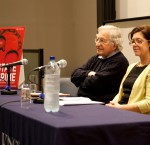 Noam Chomsky and Penny Green at ISCI's launch of the State Crime Journal: October 2011.
