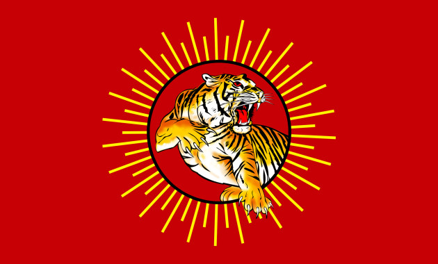 Tamil Tiger flag