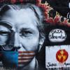 Wikileaks graffiti