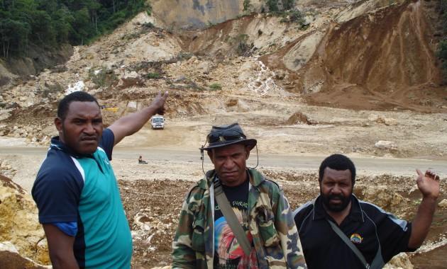 Agobe-Chief Jokoya-Councillor Hipson-Tumbi Landslide