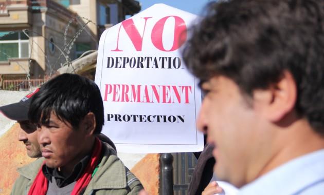 No deportation! Permanent protection!