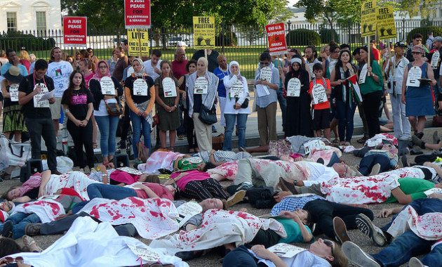 Die-In Protest July 16 2014