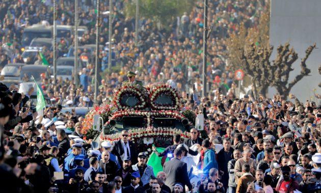 Gaid Salah's funeral
